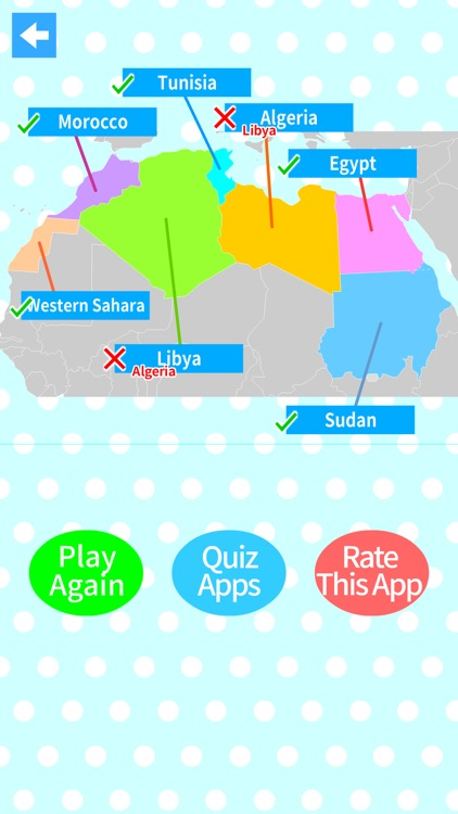 World Countries Map Quiz by Kazuto Takada