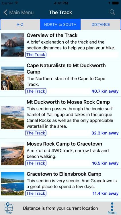 Cape to Cape Track Guide