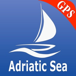 Adriatic Sea GPS Nautical charts