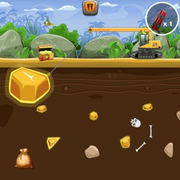 Gold Digger Puzzle Game
