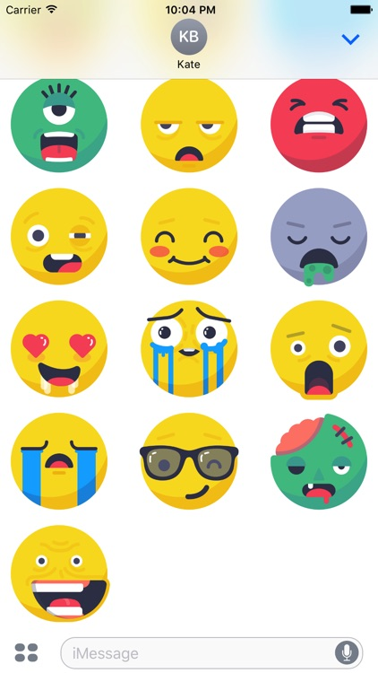 Smileys Kit Stickers