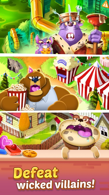 Cookie Cats - a singing puzzle adventure screenshot-3