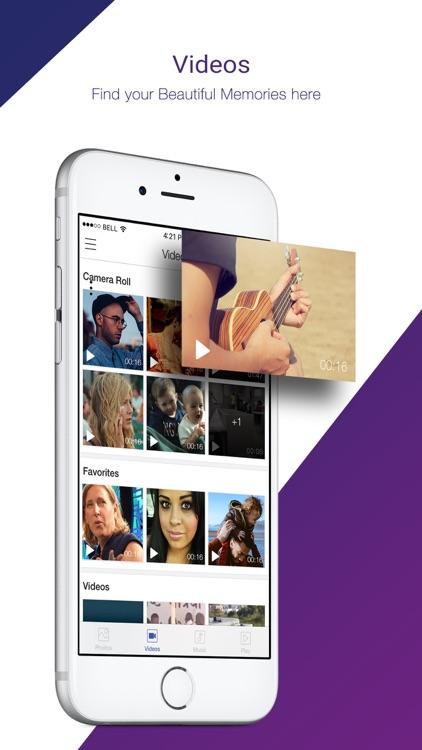 VuLiv Player - Videos & Music screenshot-3