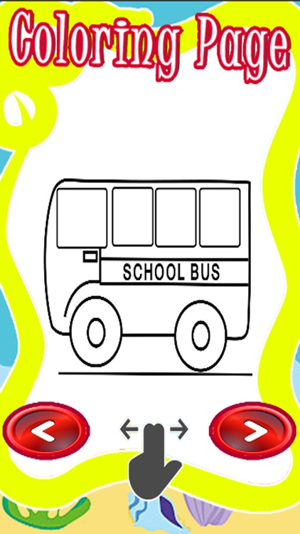 Monster Big Coloring Pages Games Bus Version