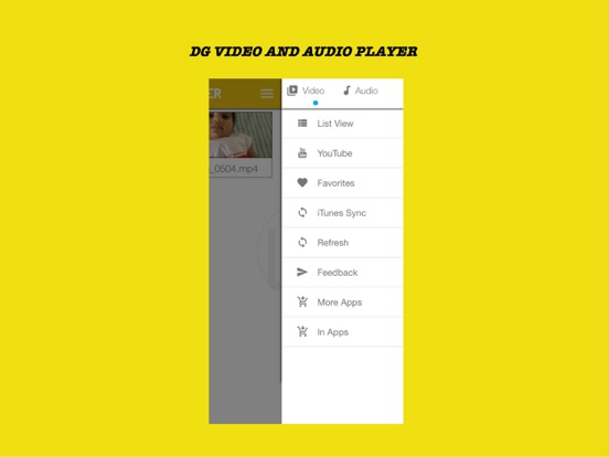DG Player - HD video player for iPhone/iPad   App Price Drops