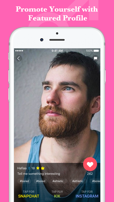 Gay Dating Hookup Chat App for Kik & Snapchat by Songfu Jiang