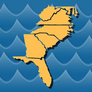 Stream Map USA - Southeast app