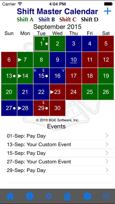 download Shift Master Shift Calendar apps 1