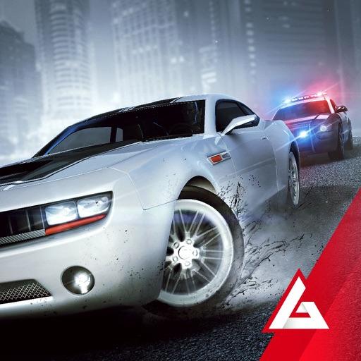 Highway Getaway: Police Chase - Car Racing Game