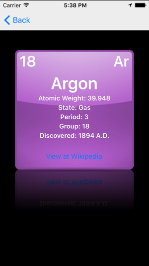 Periodic table of the chemical elements on the app store urtaz Choice Image