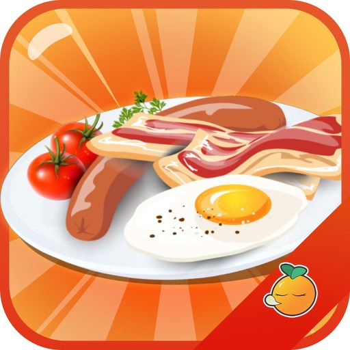 Cooking Eggs With Bacon to make breakfast iOS App