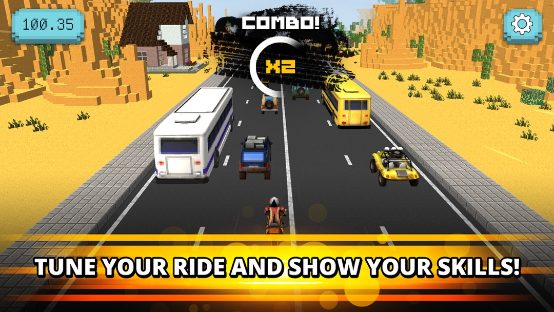 Traffic Jam Rider: Motor Race - Online Game Hack and Cheat