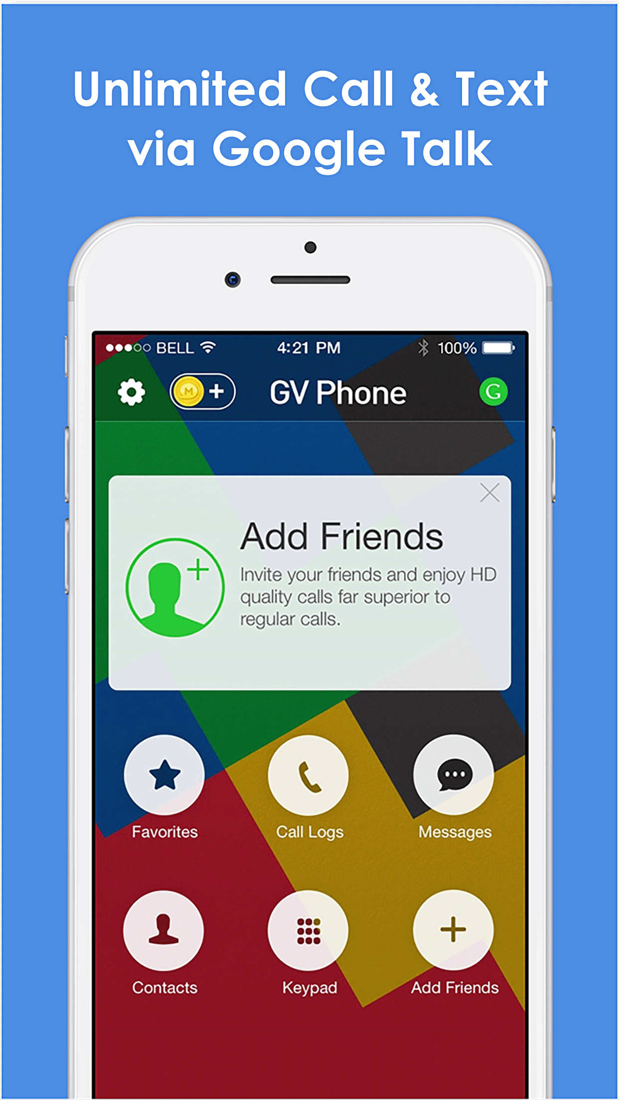 Phone for Google Voice & GTalk Screenshot