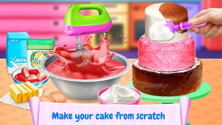 Cake Maker! Best Cooking Games screenshot-3