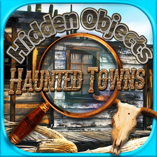 Hidden Objects - Haunted Mystery Towns Object Time