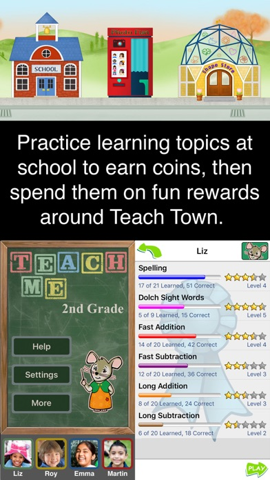 Screenshot for TeachMe: 2nd Grade in United States App Store