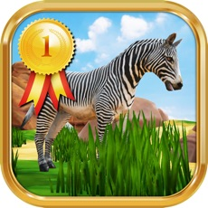 Activities of Zebra Safari Animals - Kids Game for 1-8 years old