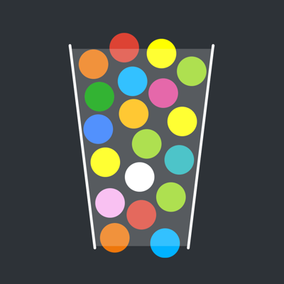 100 Balls - Tap to Drop the Color Ball Game app
