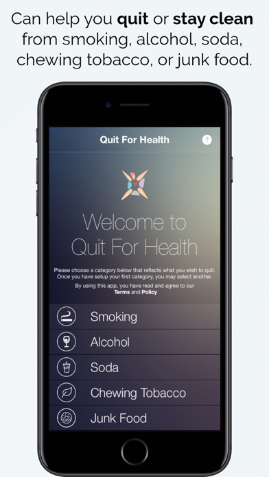Quit For Health Lite screenshot one