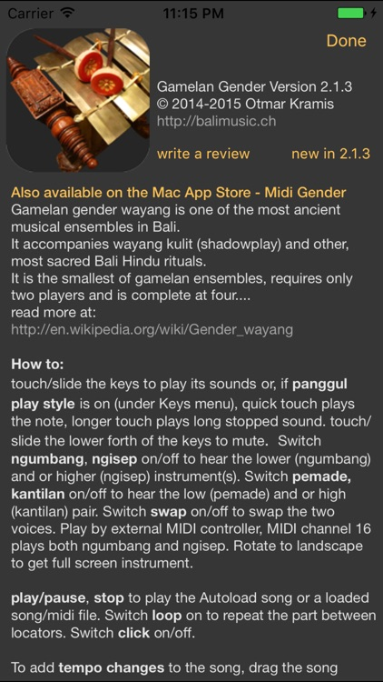 Gamelan Gender screenshot-4