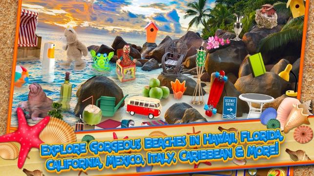 Hidden Objects Summer Beach On The App Store
