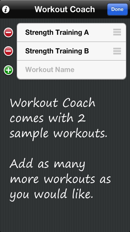 Workout Coach - Manages Your Exercise Routines