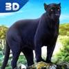 豹家庭森林生活3D