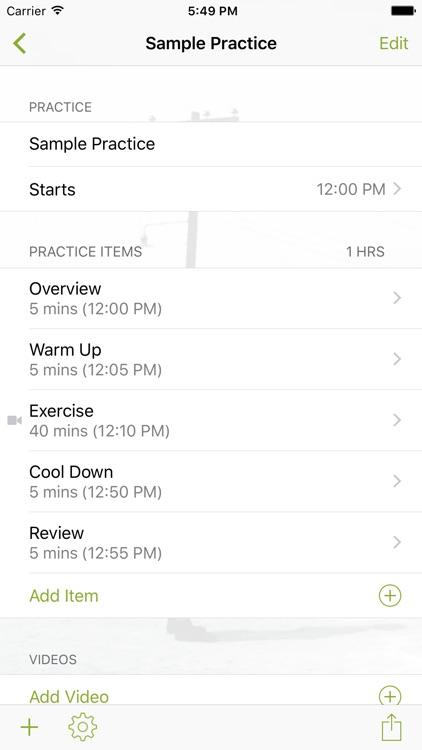 InfiniteSoftball Practice Planner