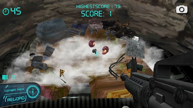 Real Strike-The Original 3D AR FPS Gun app Screenshot
