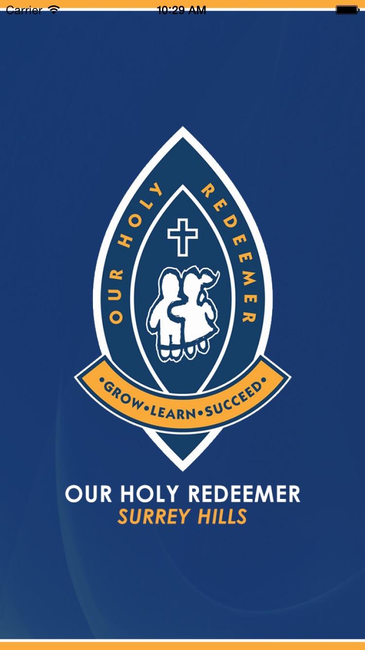 Our Holy Redeemer - Skoolbag Screenshot
