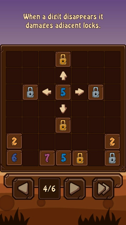7Bricks - Complex logical puzzle game with numbers