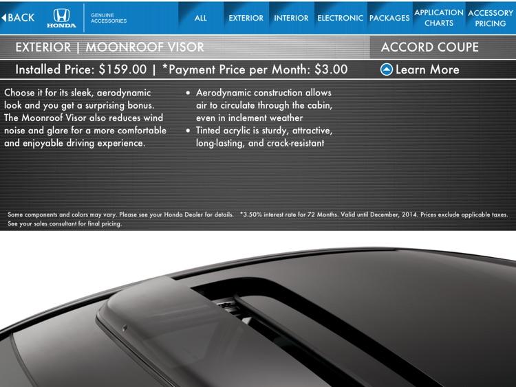 Honda Accessories screenshot-3