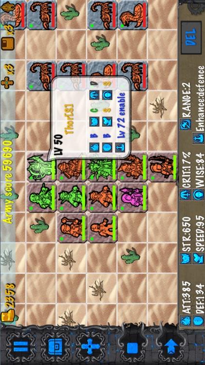 RockWar-King Arthur's journey screenshot-3