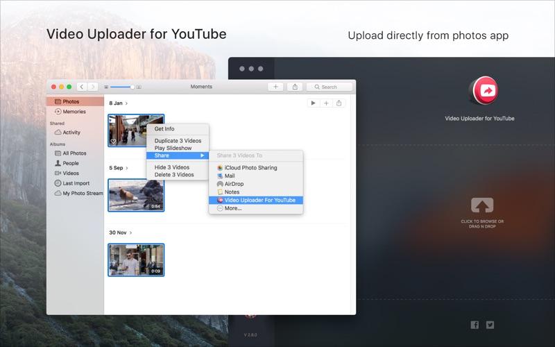 Video Uploader for YouTube скриншот программы 2