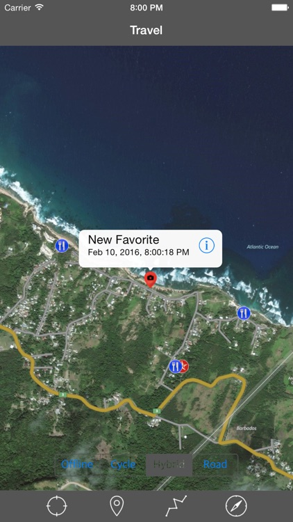 BARBADOS – GPS Travel Map Offline Navigator screenshot-2