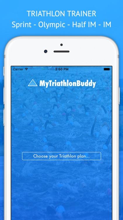 MyTriathlonBuddy Swim,Bike,Run screenshot-0