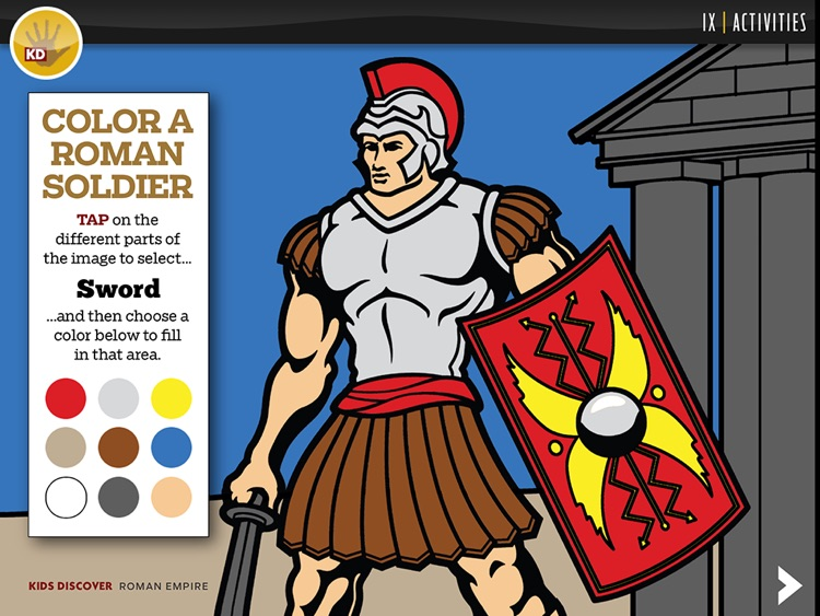 Roman Empire by KIDS DISCOVER screenshot-4