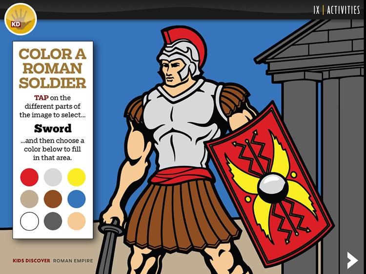Roman Empire by KIDS DISCOVER screenshot-4