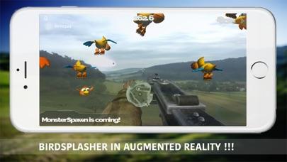 BirdSplasher - AugmentedReality Screenshot 1