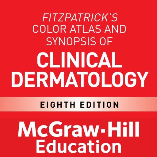 Fitzpatrick's Atlas & Synopsis of Dermatology, 8/E