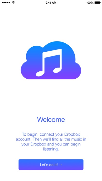 Tunebox - Cloud Music Player for Dropbox screenshot-4
