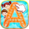 A到Z的字母学习和作家幼儿