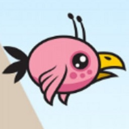 Pink Parrot In Flying Pencil Worldz