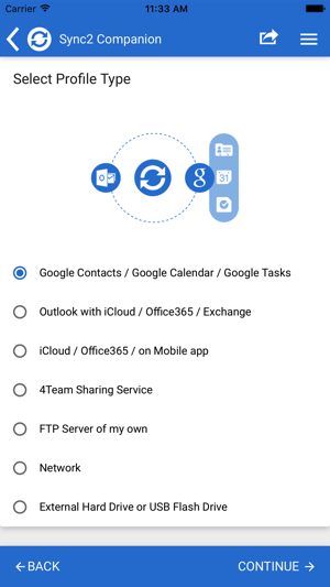 Sync2 Outlook Google & iCloud on the App Store