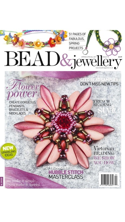 Bead Magazine - The UK's favourite magazine for beadwork, wirework, lampwork and mixed media