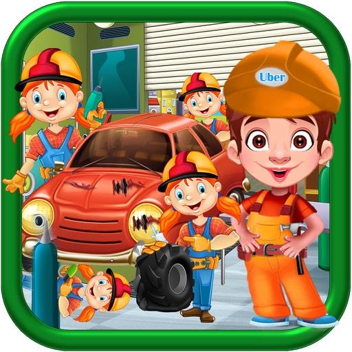 Kids Uber Car WorkShop - Kids Car Mechanic