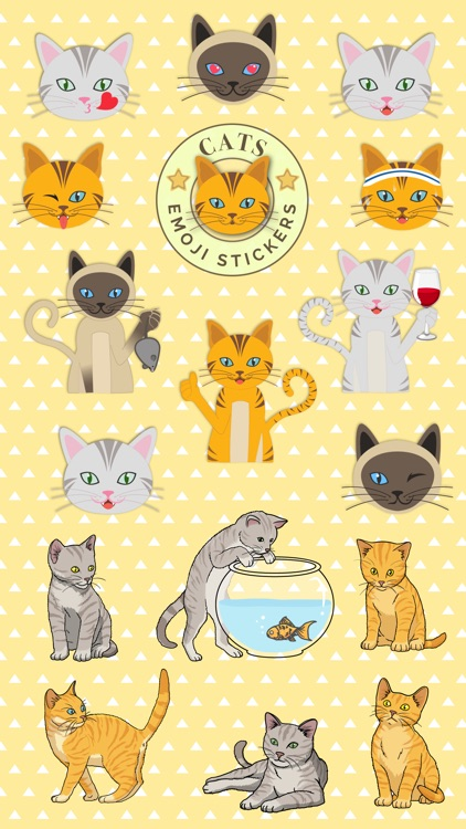 Cats - emoji sticker pack for cat lovers screenshot-0