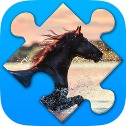Horses jigsaw puzzles for adults