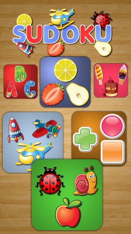 Sudoku. Logical educational game for children