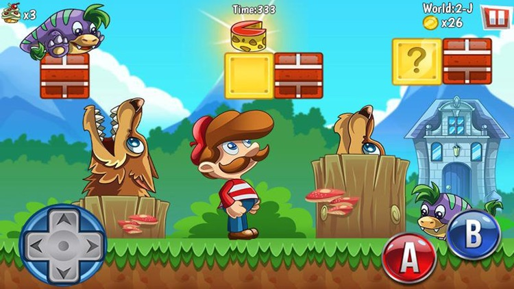 Mike's 2 Jungle Adventure - Sboy Adventure 2 Jump